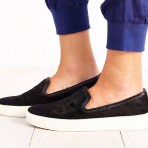 Sam Edelman | Real Cow Fur Slip On Shoes